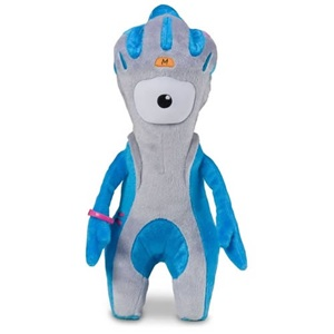 Mandeville Paralympic Mascot Soft Toy - 20cm