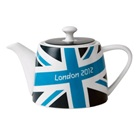 London 2012 Union Jack Tea Pot