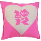 London 2012 Heart Cushion – Jan Constantine